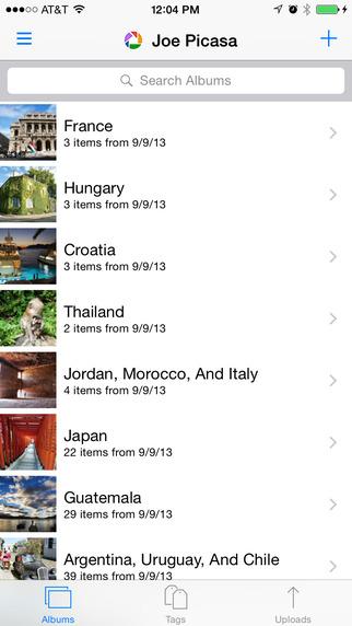 Web Albums for Picasa and Google Photos Screenshots