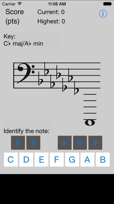 Note Tutor iPhone Screenshot 5