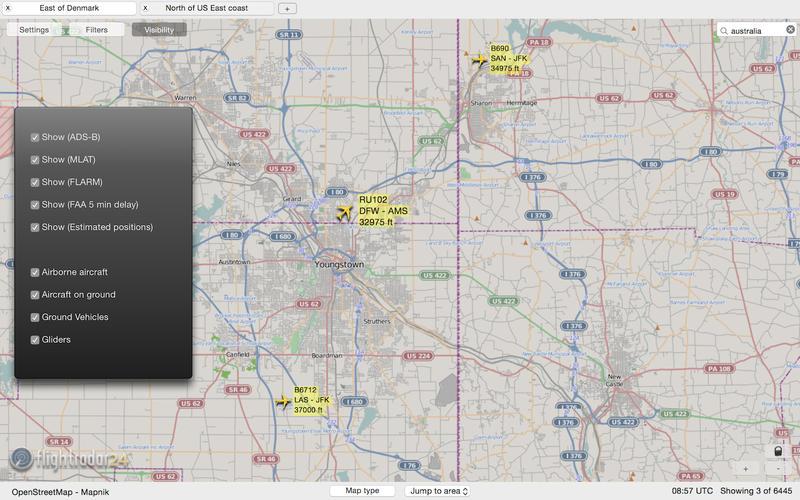 Flightradar24 скриншот программы 3