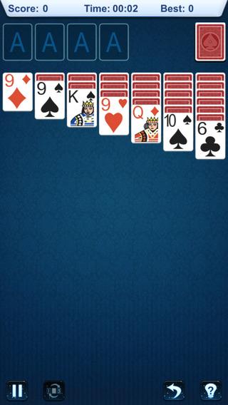 【免費遊戲App】`Solitaire: Basic-APP點子