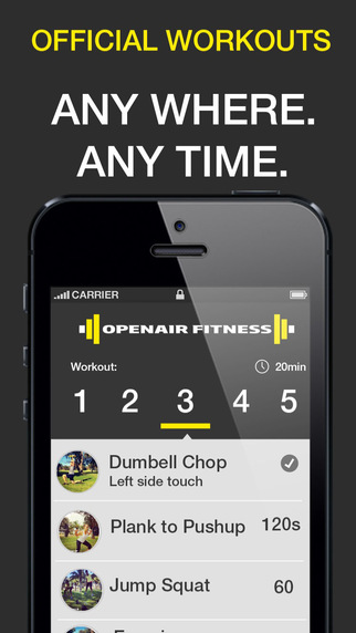 Openair Fitness - AFL Workout