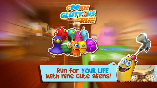 Cookie Gluttons Run Screenshots