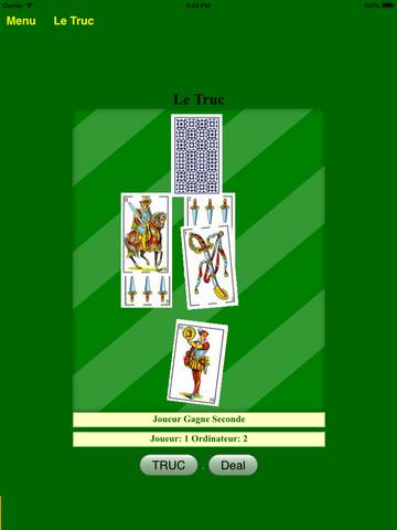 Le Truc Jeux de Cartes France pour iPad - BA.net