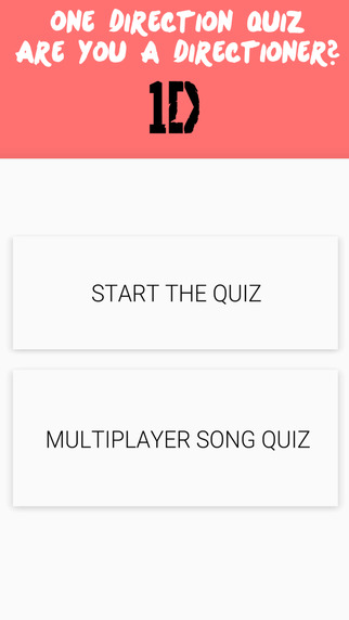 Fan Quiz - One Direction Edition