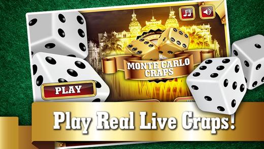 Monte Carlo Craps FREE - Addicting Gambler's Casino Table Dice Game