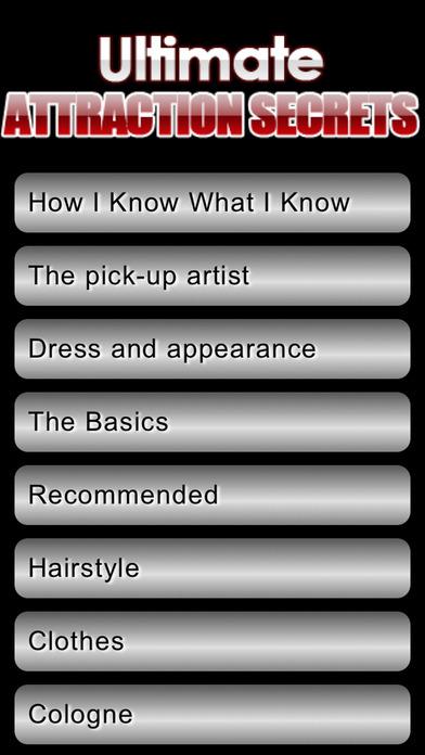 Ultimate Attraction Secrets iPhone Screenshot 1