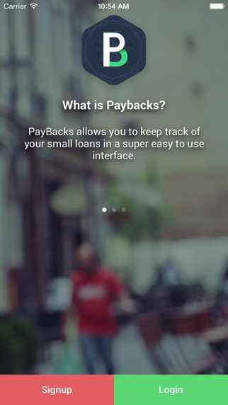 PayBacks - The best small loans manager