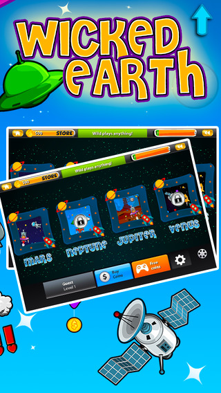 Wicked Earth Multiline Pokie-s - Free Vegas Slots Bonus Games and 14K Gold no deposit