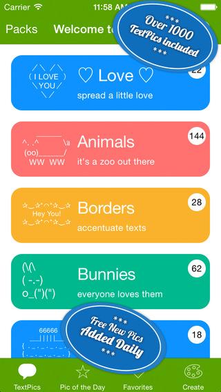 短信利器 字符图:TextPics [iPhone]
