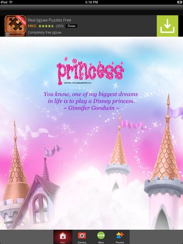 Fairytale Baby Princess Photo Montage FREE