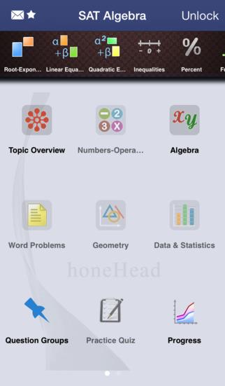 SAT Algebra