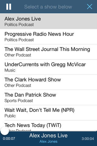 The Report: News & Talk Radio screenshot 4
