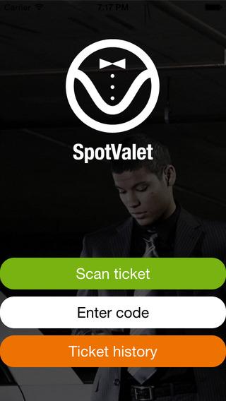 SpotValet App