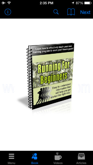 Running for Beginners:Learn how to effectively begin your own training program