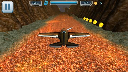 Airplanes VS Volcano 3D PRO