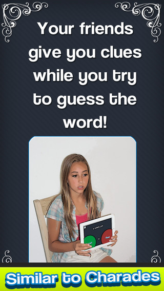 CHARADES CAN YOU GUESS IT Fun word trivia for friends with new heads up timer