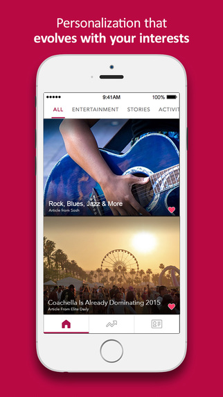 FreshFeed - Your personalized feed of trending content videos gifs news and more