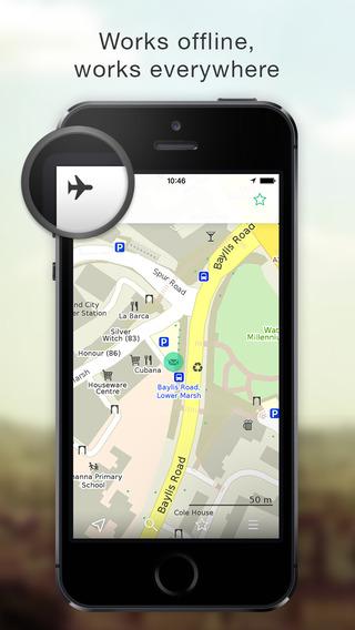 MAPS.ME Lite — offline map
