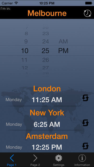 Time Traveler iPhone Screenshot 1