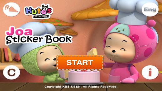 Hutos Joa Sticker Book
