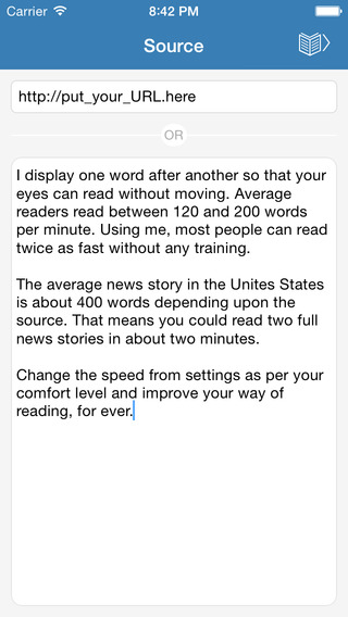 Accelerate - Speed Up Your Reading