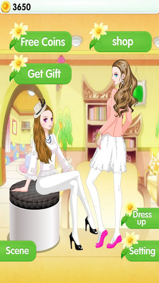 Sisters Fashion Show - dress up games for girls