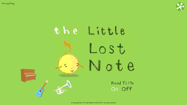 Little Lost Note