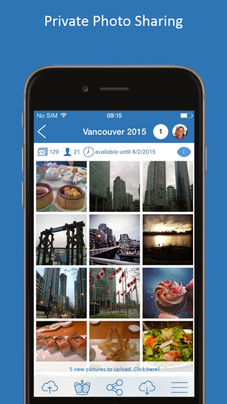 Picturex - Private Secure Photo Sharing App