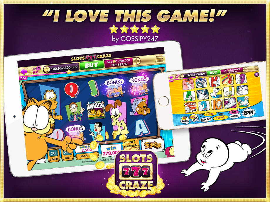 Slots Craze - Free Casino Slots - iPhone Mobile Analytics and App Store Data