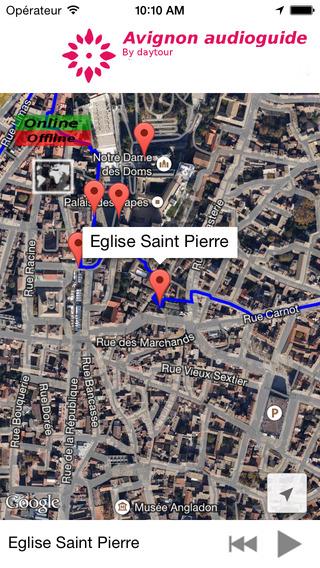 Avignon Officiel Audioguide Tour
