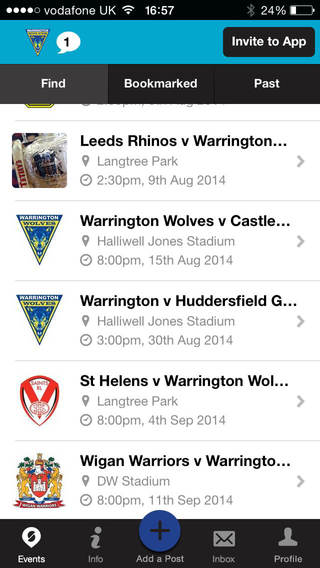 Warrington Wolves Official