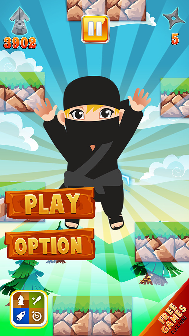 An Iron Ninja Jump - Speedy Samurai Jumping Battle Free