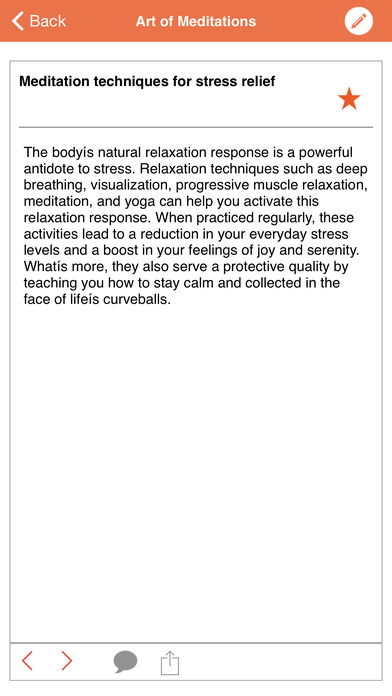 Art of Meditations iPhone Screenshot 3