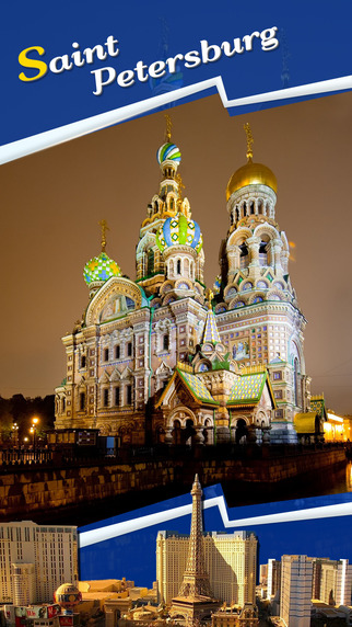 Saint Petersburg Offline Travel Guide
