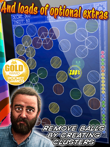 Screenshot #3 for Magnetic Billiards: Blueprint