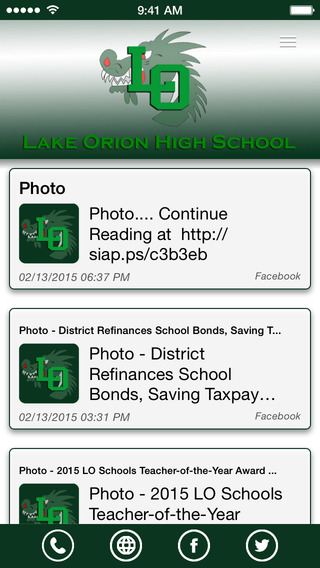 Lake Orion High School