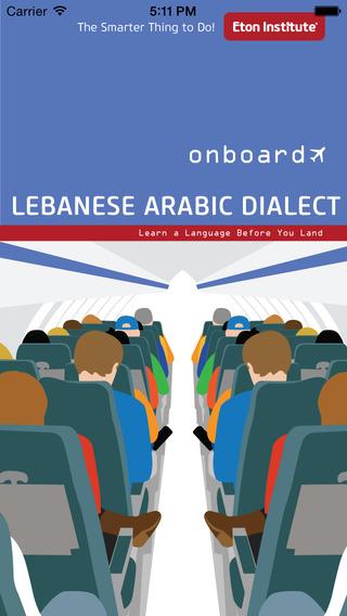 Onboard Lebanese Arabic Dialect