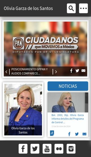 Dip. Olivia Garza de los Santos
