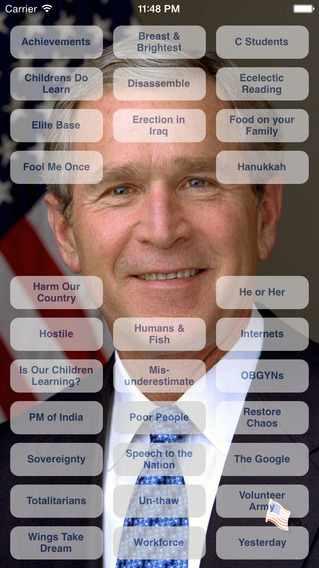 George Bush Soundbox