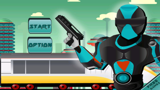 A Ninja Police Subway Shadow Battle FREE - City Train Future Cops Alien Pursuit