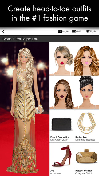 Covet Fashion Free Diamonds iPhone Screenshot