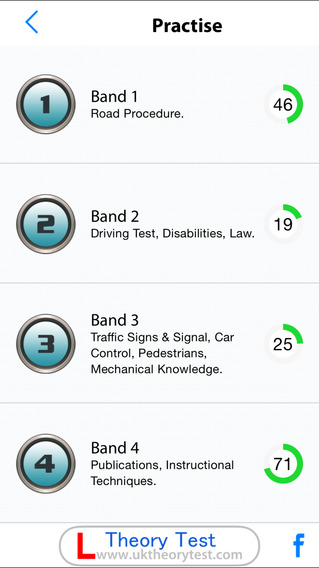 ADI / PDI Theory Test iPhone Screenshot 5