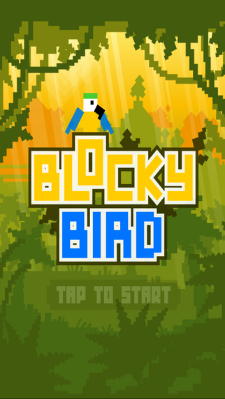 Blocky Birdie Gamie - Addictive Snake Avoid Game