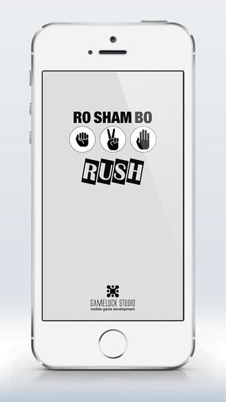 Ro Sham Bo Rush Rock-Paper-Scissors Game Impossible Rush