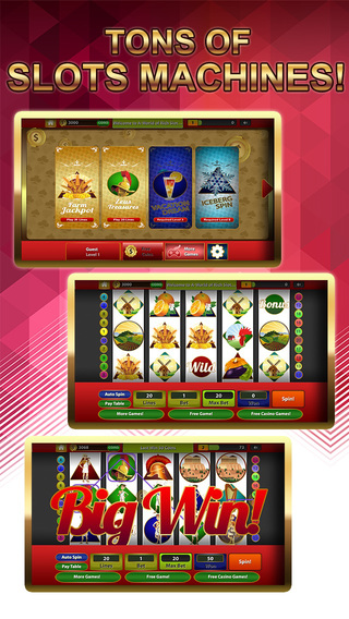 A-World of Rich Slots Farm - Land of Best Casino Games