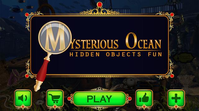 Mysterious Ocean - Hidden Objects Fun