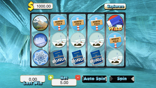 Ice Cave Slots - Hidden Casino Frozen Slot Machines FREE