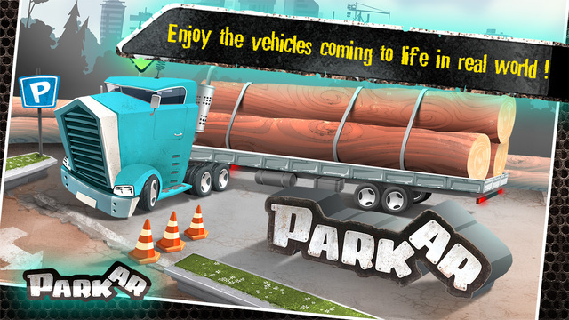 Park AR - Augmented and Virtual Reality Parking Game Screenshots