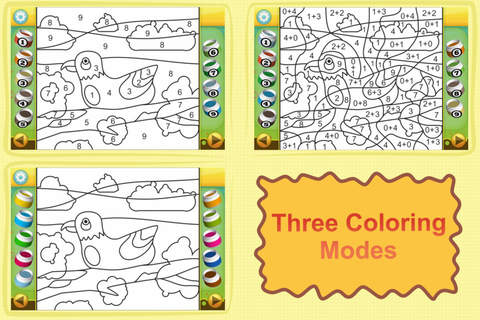 Screenshot 2 Color by Numbers - Animals - Free