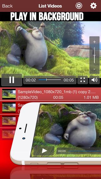 玩免費音樂APP|下載Red Video - Movie Player & Video player app不用錢|硬是要APP
